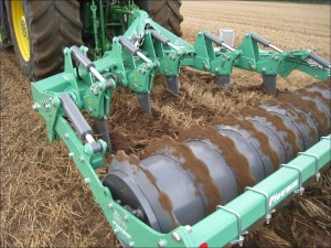 Plowman Omni-Lift cultivation depth