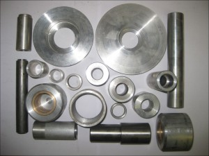 Lathe machined parts