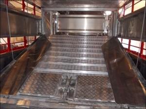 Plowman Livestock Trailer 4 deck ramps