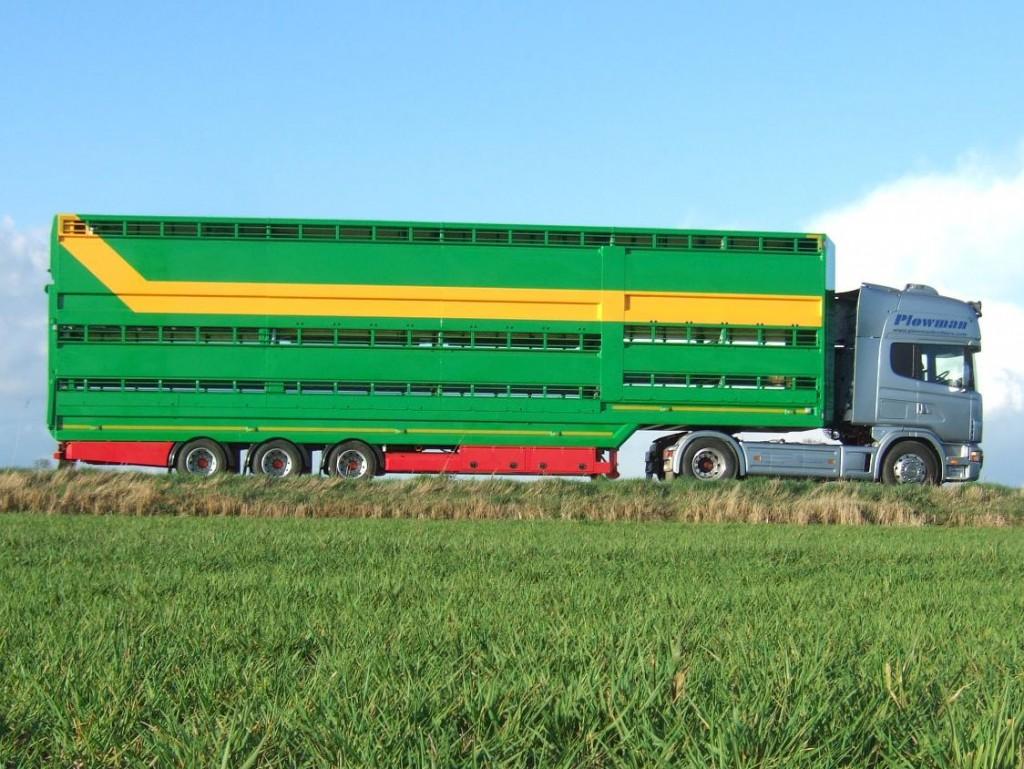 Plowman Livestock Trailer Three Deck