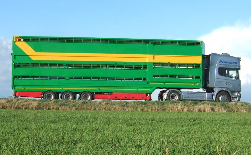 Plowman Livestock Trailer Three Deck