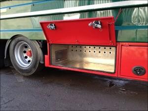 Plowman Livestock Trailer tool locker