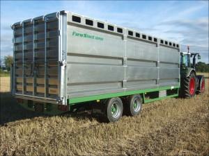Farmstock Single Deck Livestock Box