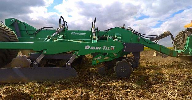 Omni-Til trailed cultivator