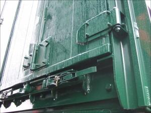 Plowman Drag Trailer barn doors