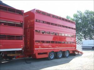 Plowman Pull Trailer Livestock
