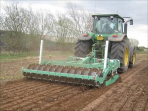 Auto-reset cultivator for hire
