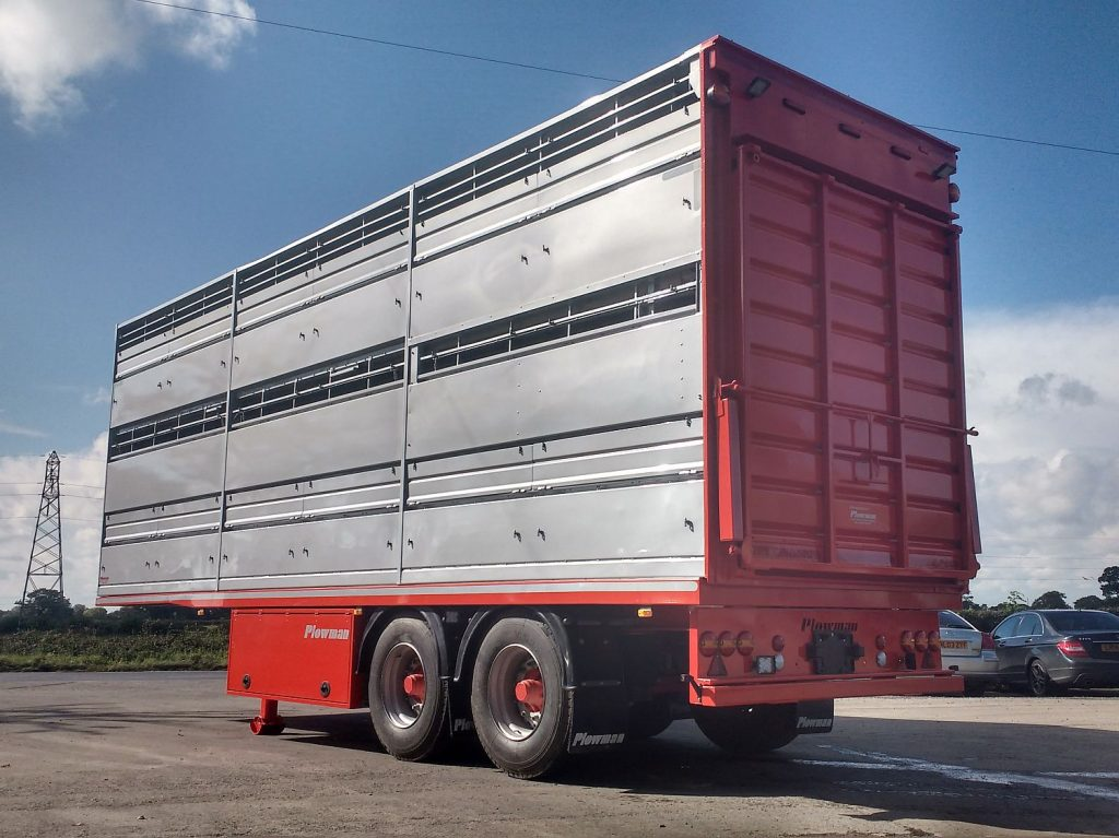 2 Axle Straight Frame Trailer